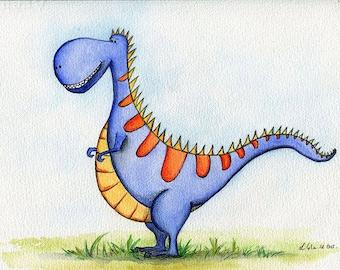 Dinosaur Terrence the T-Rex.