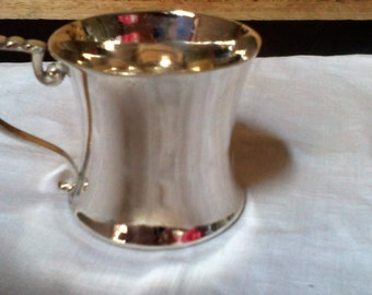 Gift Boxed Quadruple Silver Plated Christening Cup