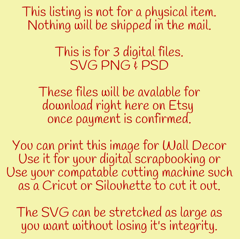 Family svg png psd files You Print Digital Download Print & Cut file ...
