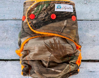 """AI2 Cloth Diaper- """"Camo"""""""