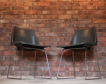 Robin Day Polyprop Midcentury Side Chairs