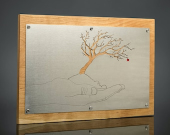 Apple Tree / Perspective  wall hanging