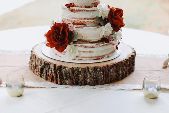 can i prune a wedding cake tree wood slab cake stand wood slice cake stand wood slab 12359