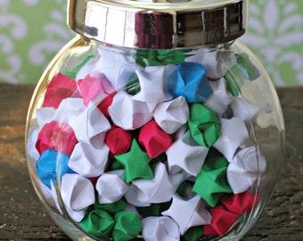Small Round Jar of Stars