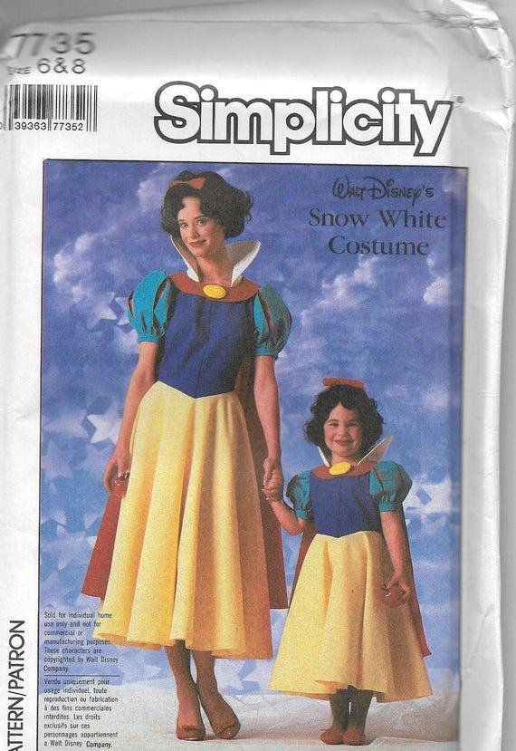 Uncut, Kindergröße 6-8, Vintage Schnittmuster, Einfachheit 7735 ...