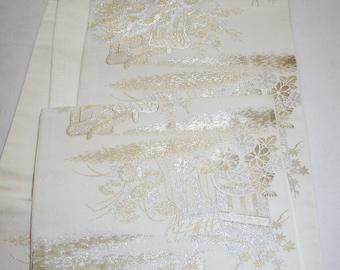 Japanese  Obi Silk Fabric