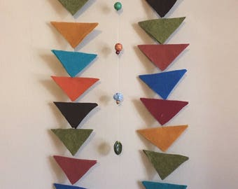 Geometric Gender Neutral Baby Mobile/ Wall Hanging