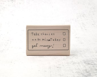The Ms. Frizzle Stamp - Inspirational Rubber Stamp - Motivational Teacher's Grading Stamp