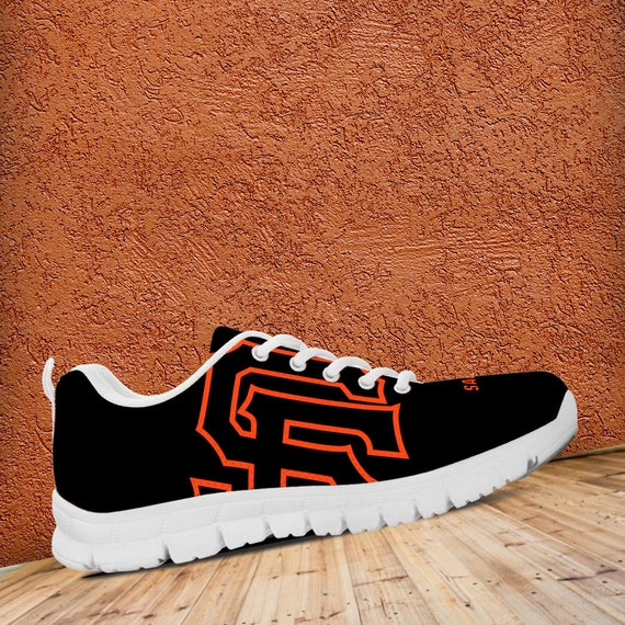 Baseball Sizes Unofficial Sneakers Running Shoes Trainers Mens White Francisco San Kids Giants Fan Custom Ladies wE411Sq