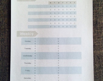 Cleaning Checklist - Schedule - Planner - Household - Organisation