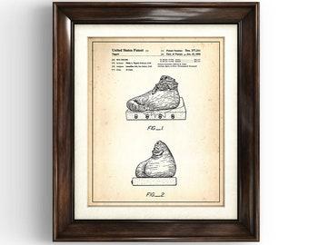 STAR WARS Jabba The Hutt | 1985 | Patent Print | Character Print | Star Wars Gift | Movie Art | Home Decor | Man Cave Art | Vintage Gift