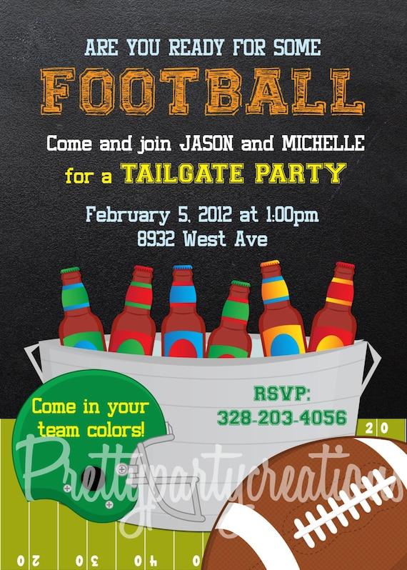 Tailgate Party Invite