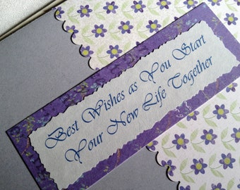 Best Wishes in Marriage - Blank greeting card