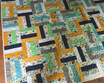 Youth rail fence quilt