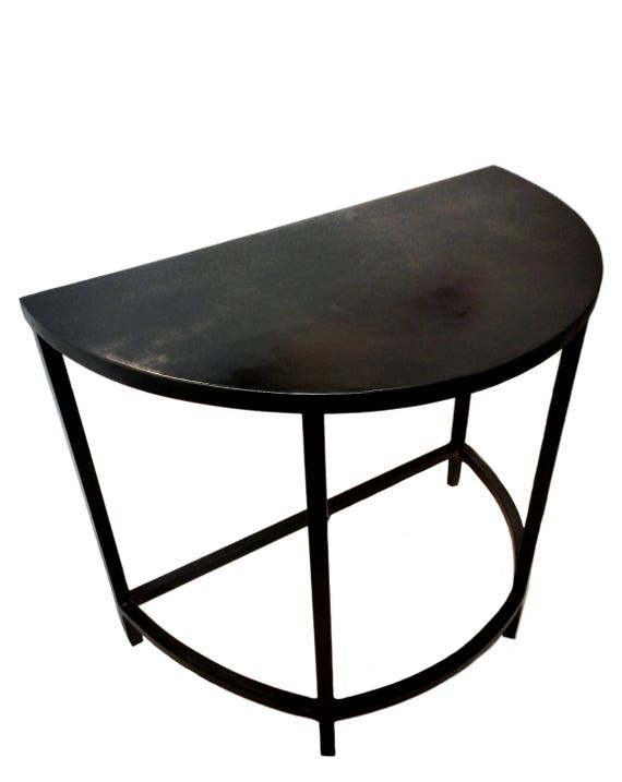 Half Moon Table Demilune table Console Table Accent Table