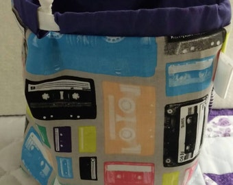 Cassettes Sock Sack Ready to Ship