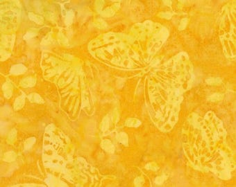 Timeless Treasures Fabrics Tonga Batiks Sun Butterfly