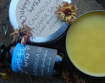 Calendula Flower organic Oil/  Salve/ cream
