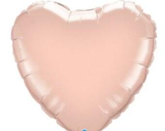Rosegold Foil Heart Balloon