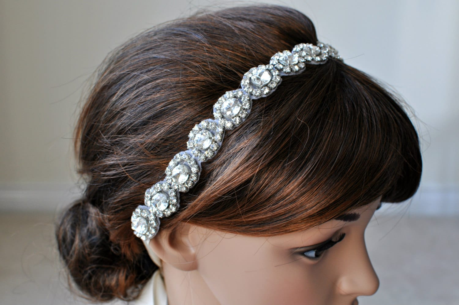 Wedding Hair Accessory Beaded Headband Bridal Headband