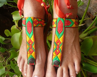 EXTRA Switchable Fancy Colorful Embroidery  Adaptable With Pakashoes Sole Free Shipping