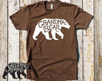 Grandma Bear Shirt ~ Grandma Gift ~ Grandmother Shirt ~ Gift for Grandma ~ Mother's Day Shirt ~ Mom Shirt