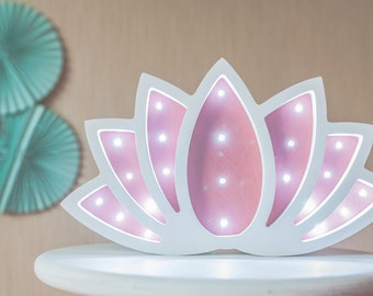 Lotus Night Light Gift for Babyshower Gift Idea for Babyshower Gift for Baby Present for a Babyshower Lotus Night Light Baby night light