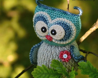 Crochet pattern - Sweet owl by VendulkaM - amigurumi/ crochet toy, digital pattern, DIY, pdf