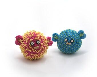 Crocheted Pufferfish Pattern PDF