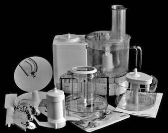Braun Food Processor 4262 Electronic, Complete, Made in Germany