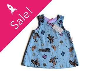 HOWDY PARTNER! Baby dress, Size 6-12 months