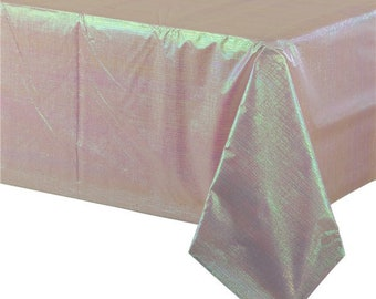 table cover, baby shower, pink table cloth, Crafts, Picnics, Banquet Buffet, kids table party supplies, Table Cloth, Gender reveal,opales