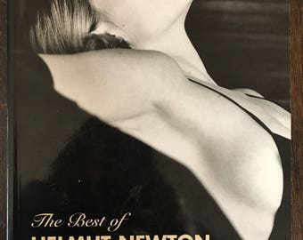 Helmut Newton book Fashion Photography coffee table art book 1996 The Best of Helmut Newton (2nd Edition) book 90s vintage erotica