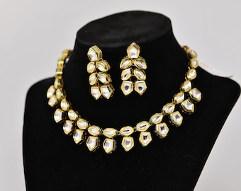 High quality double line Kundan Necklace