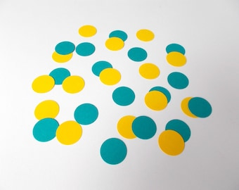 "1"" Circle Confetti, Table Scatter, 200 Count Party Confetti, Gender Reveal, Baby Shower, Pick Your Color Confetti"