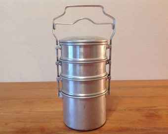 Former worker aluminum Bowl / 4 compartments / BOURGEAT series classic Made In France