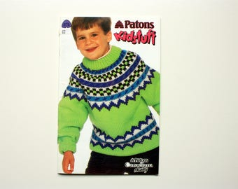 Patons 675 - Kidstuff - Children's Sweaters