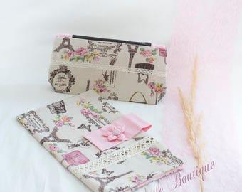 Diaper Bag, Diaper Clutch, Vintage Style