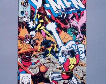 Vintage 1983 X-Men No. 175 Excellent Condition
