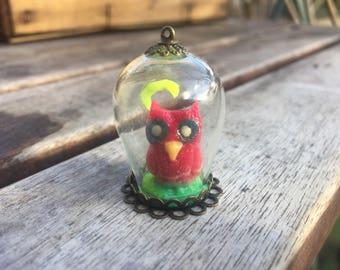 Phosphorescent OWL jewelry