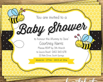 Bee Baby Shower ...