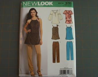 New Look 6761 Misses Tops and Pants Sewing Pattern Sizes 6-16 New