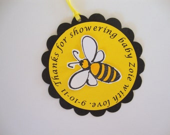Bumble bee tags and supplies