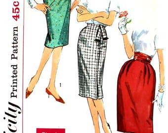 Skirts with Interesting Waists Waist 27 Simplicity 3586