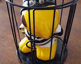 Birdman of Alcatraz bank