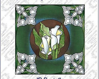 BeBeveled Paned Expressions Pattern Book CD 50 Patterns Be Beveled + BONUS Stained Glass Supplies