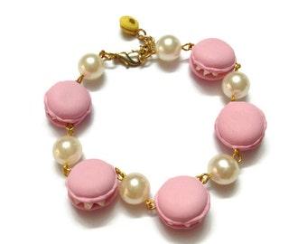 Bracelet charm Sweet deco Polymer clay L6.5 inch - BC174