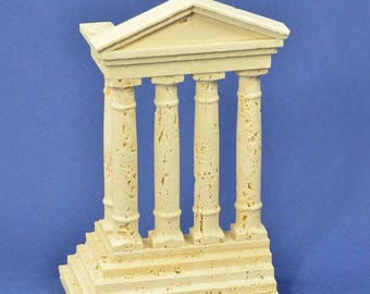 """Reconstruction of travertine marble Ruins """"Temple"""""""