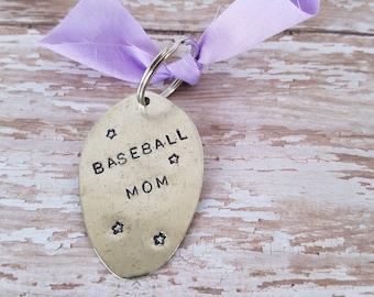 Baseball Mom Key Chain / Key Chain / Baseball Mom