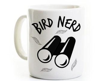 Bird Watcher Gift Mug - Bird Nerd Mug - Animal Bird Lover Gift - Birdwatcher Birthday Mug - Nature Lover Humor